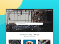 Auto Repair Website Concept