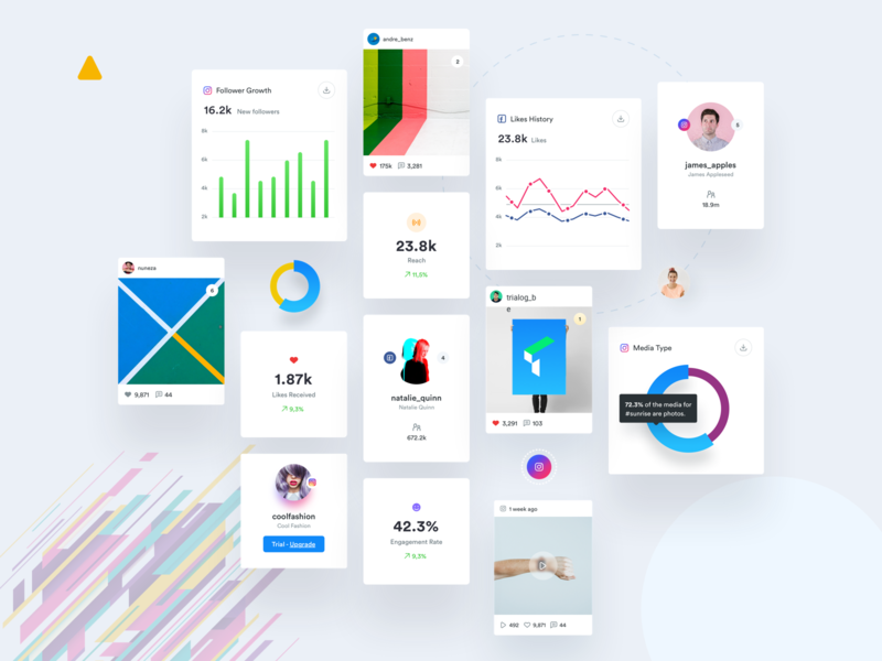 UI Elements Exploration dashboard dribbble minimalistic redesign user interface website app user experience ux ui