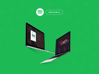 Spotify 2.0 spotify redesign interface dashboard web player ux ui redesign spotify