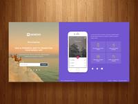 RGen App Landing Page