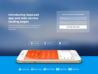 App landing page demo
