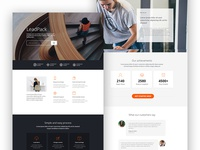 LeadPack - Business landing page