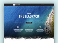 Leadpack Travel Landing Page