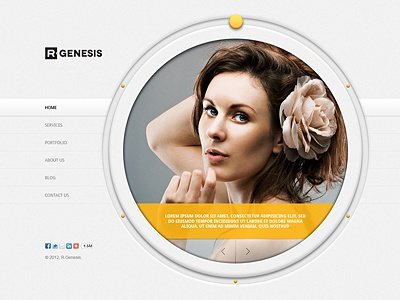 R.Gen - Circle PSD Template