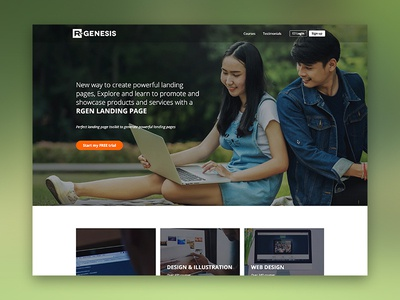 Education Landing Page