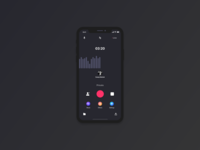 Record UI/UX