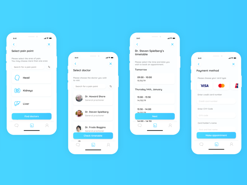 Appointment Booking by Dul Zorigoo on Dribbble