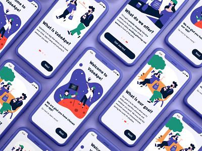 Vabe, Ape? ui design uxdesign ux design uidesign app design aperitivo mobile ios flat design dailyui app user inteface userinterface uiuxdesign ux ui figmadesign figma illustration