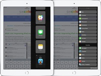 Improving iPad multitasking