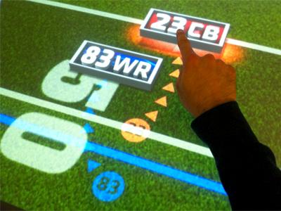 ESPN PlayBook Touchscreen Graphic espn sportscenter touchscreen touch screen football
