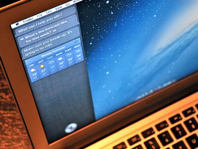 Siri on Mountain Lion siri mac osx concept mountain lion