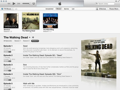Ideas for Improving iTunes 11 Expanded View itunes itunes 11 concept