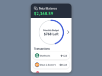 Budgeting Tool Concept