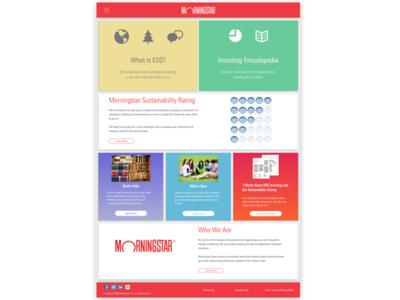 Morningstar ESG Landing Page