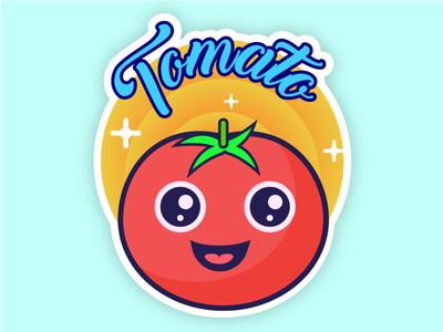 Sticker Mule_Tomato fun icons illustration icon sticker mule sticker