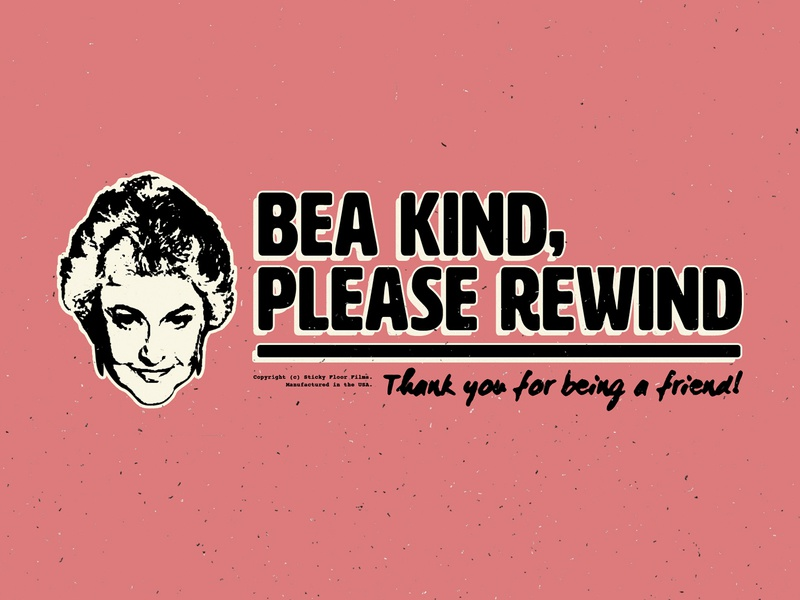 Bea Kind sitcom rental rewind tape cassette vcr movie blockbuster video tape