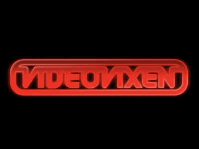 Video Vixen logo intro synth thick lines industrial retro vcr cassette 80s tape video