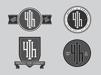 Improv4Humans logos 4-7