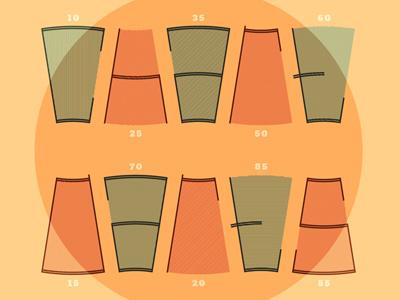 Chart Darts charts darts dart board podcast comedy comedian howard kremer who charted typography