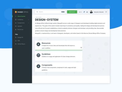 Design System (beginning)