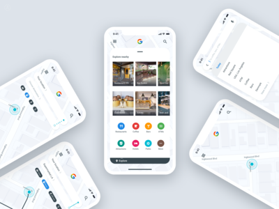 Concept for Google maps
