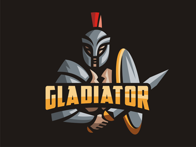 Gladiator logo template