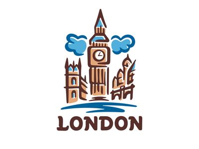 London logo template by dizamax on Dribbble