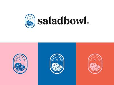 Saladbowl - Logo Exploration logo design branding concept food app food logo minimal design typogaphy branding healthy life logotype logo healthy food