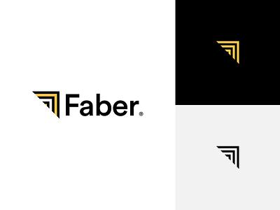 🚧 Faber Logo minimal logo branding interior design architects