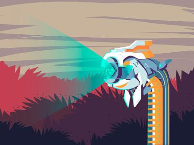 Horizon Zero Dawn – Watcher game machine watcher horizon horizon zero dawn