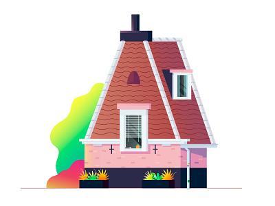 A dutch architecture utrecht netherlands holland roof plants blinds window house alphabet letter a