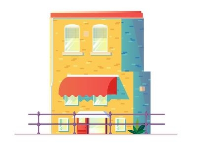 B dutch architecture utrecht netherlands holland roof plants blinds window house alphabet letter b