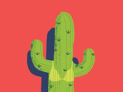 Summer Cactus ole tillnoon amigos mexico cover newspaper keyvisual sunburn cactus