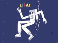 Astronaut & Burger