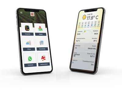 Abelardo Cuffia Mobile App icon ui ux design