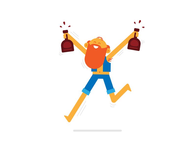 Rum Run illustration