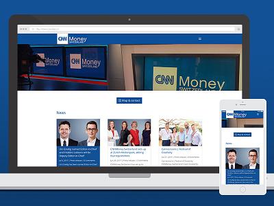 CNNMoney Switzerland webdesign