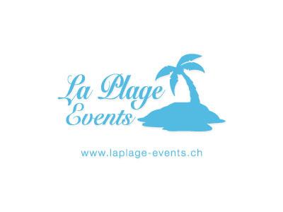 Logo La Plage Events logo