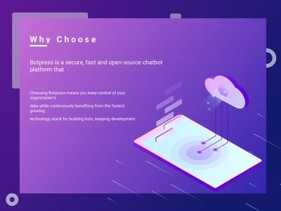 Why choose us isometric database mobile platform digital cloud data chat open source