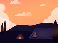 Camping (Day 11/365)
