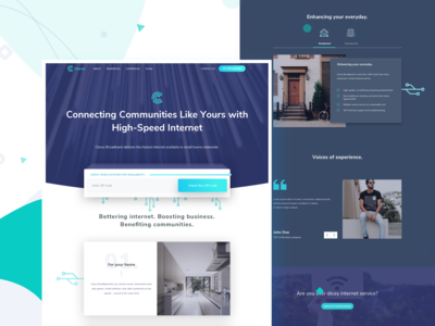 Clarus home page