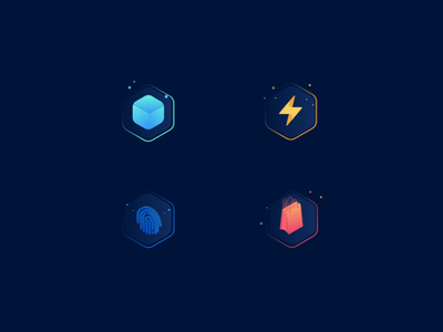 Animated icons website modern design color web vector icons design illustration animation icons set icons