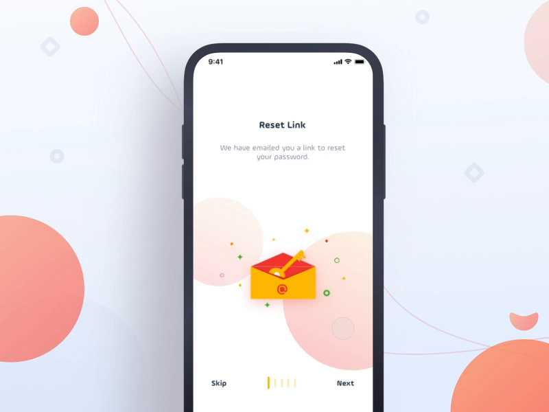 Onboarding for dribbble
