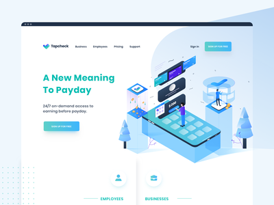 Home page website design user interface design user experience money illustrations icons illustrator website user interface color web app vector isometric illustration ux ui