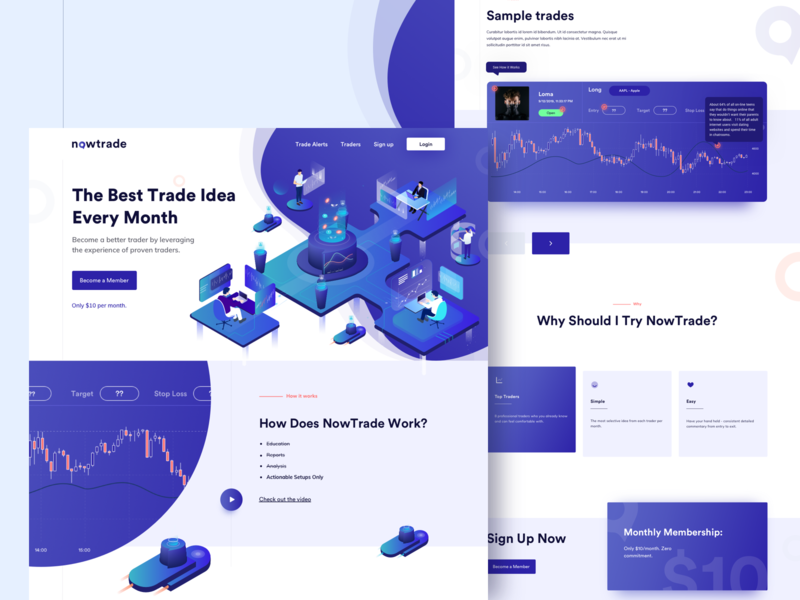 Nowtrade Home page