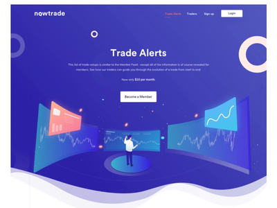 trade alerts full page
