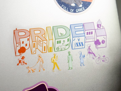 Pride Laptop Sticker