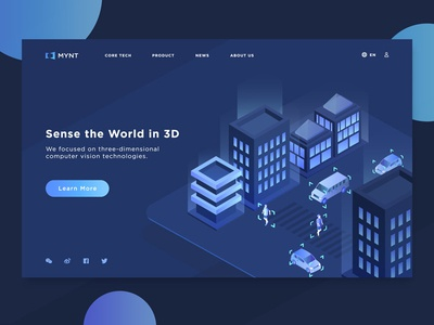 Daily Ui #003:Landing Page part 2