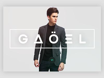 Gaoel Font swiss design typography futuristic minimalist bold creative modern elegant smooth webfont ui font typeface