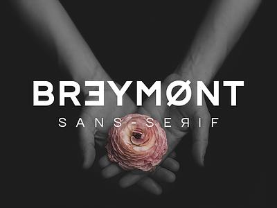 Breymont Font sans serif typography futuristic minimalist bold creative modern elegant smooth webfont ui font typeface